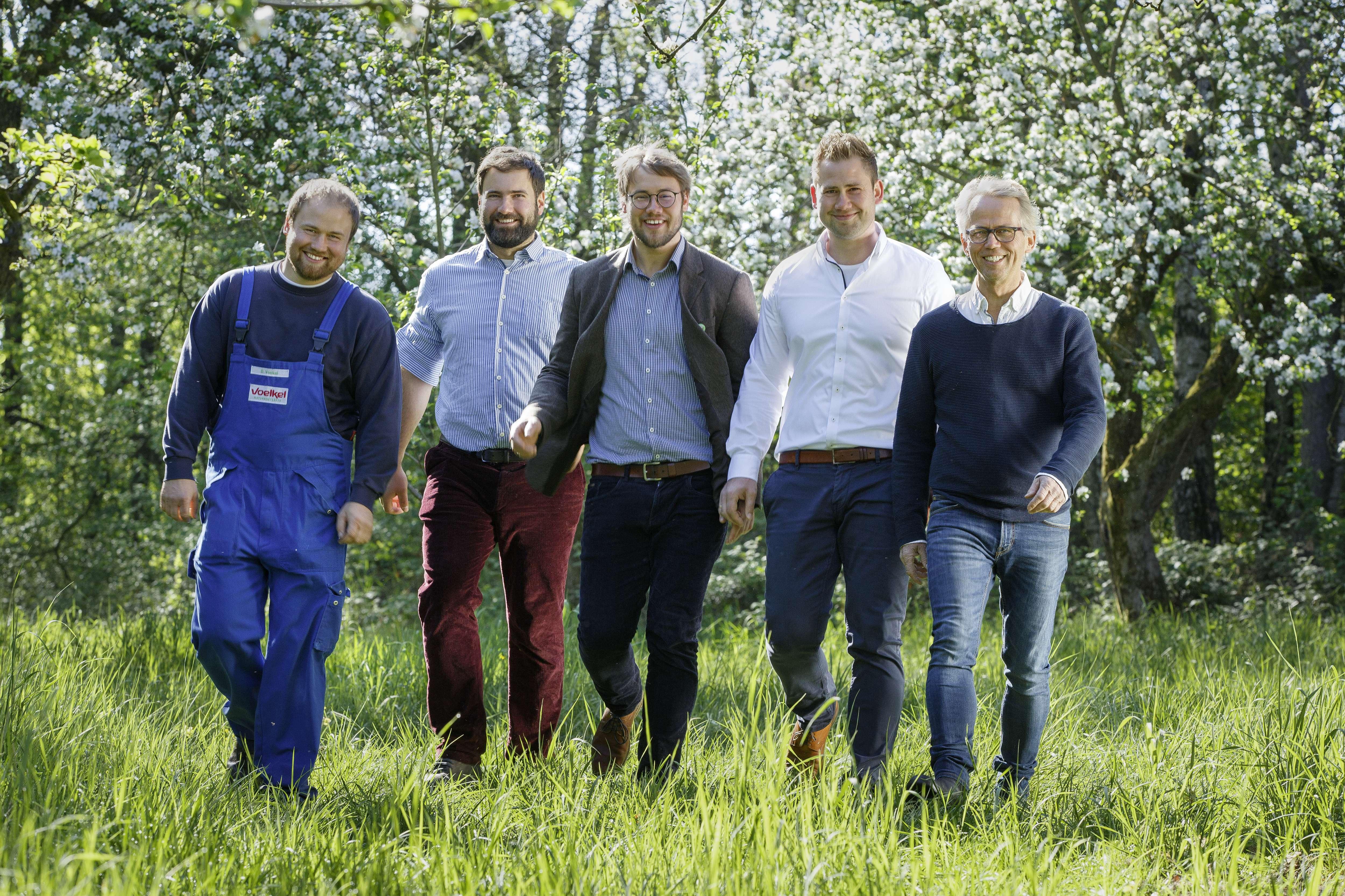 David, Boris, Jurek, Jacob, Stefan Voelkel