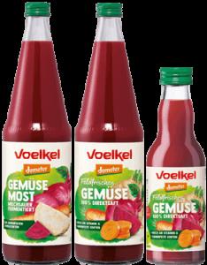 Voelkel Gemüsesäfte & Most - Packshot